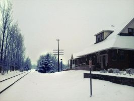 In The Silence Of The Snow by surrealistique