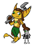 Ratchet and clank by Emmendal
