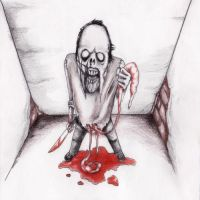 Zombies Disembowel by art-of-gore