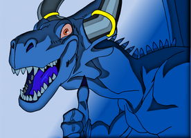 Blue dragon by nuvalo