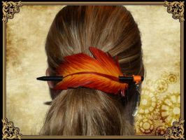 Plume pour cheveux 9 by Damiane