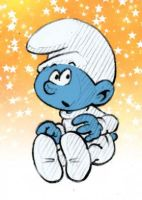 Baby Smurf by AliceSacco