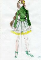 Dress Thumbelina by BreaThe-Me-Love