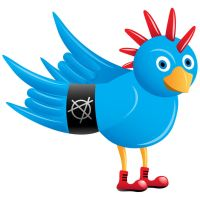 Punk rock Twitter icon by grebenru