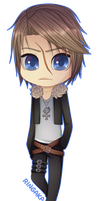 Final Fantasy Chibi Set [2/3] Squall by RingaButt