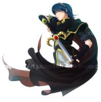 Black Marth Commission by J00se