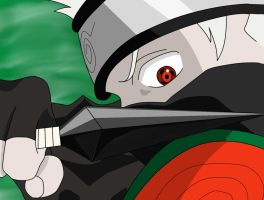 Kakashi-Your future is death by Asmodeus04