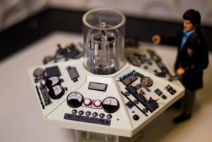 Doctor Who - TARDIS Console Model by TonyStarkHarrison