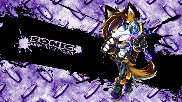 SonicSuperArmsProject  Elect The Husky by skyshek
