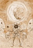 Skull Kid Has Friends by Jujulica