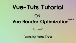 Optimize Render Settings pt. 3 by artech7