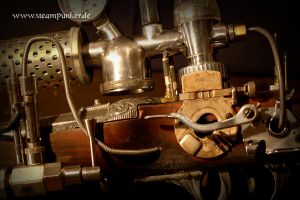 steampunk gun - ghost blaster by steamworker