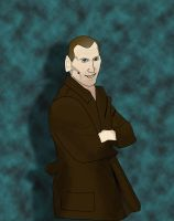 The Ninth Doctor (Christopher Eccleston) by mirabelle25