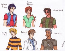 Human Transformers: Fanfic ver by Katterina