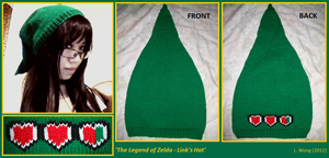 LoZ Link's Hat - version 2 by Stitch-Happy