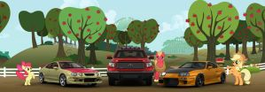 The Apple Families and Toyotas by NSDrift