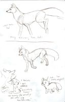 Tutorial Sketch: Fox 3 by Joava