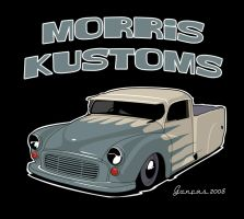 Morris Minor Pickup by carguy88