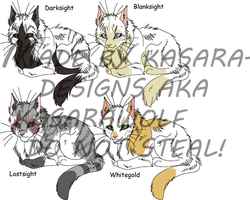 Warrior Cats- Elders 2 GONE by Kasara-Designs