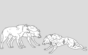 fallen wolf by WhiteWolfCrisis13