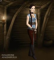 GOT Lara Croft by LadyIlona1984