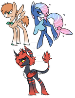 Sun and Moon Pokepony Auctions {closed} by Fallen-Fate