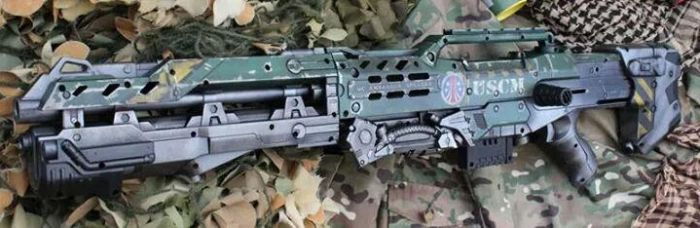 Nerf Longshot Colonial Marines by dog-green-1