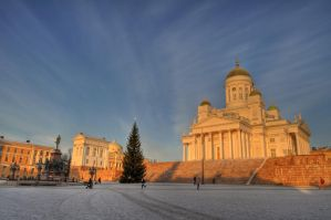 Helsinki Cathedral by Philiwily