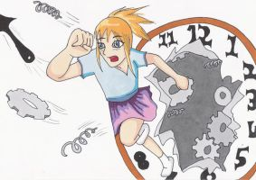 running out of time by Steph-Sama