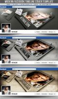 PSD Modern Facebook Timeline Cover by retinathemes
