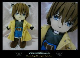 Wolf Brother - Carlos by renealexa-plushie