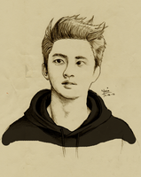 EXO's Very Own Dororo by seetwopm