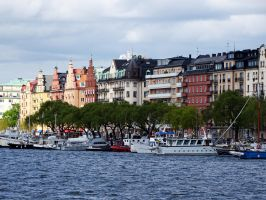 Stockholm houses by Olessa