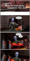 Liara In - Bad For The Body, Good For The Soul by Rastifan