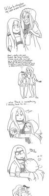 That's my sister :3 by Shadaty