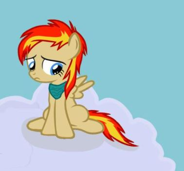 Filly Firewing by Bloodymuffin1337