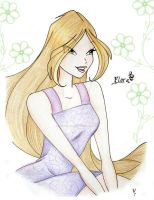 Flora summer - Winx by MaddMorgana