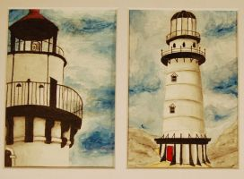 lighthouses by rachhhhh