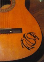 guitar logo by Twisted-June