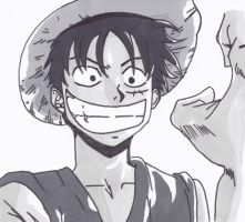 luffy (one piece) by yvelise