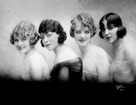 4 flappers by MementoMori-stock