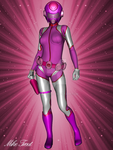 ZOE: The true Pink Ranger by mtrout65