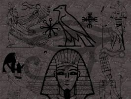 Egyptian Marks- PS version by UnendingDreamer