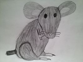 The Solitary Mouse by nishnash4