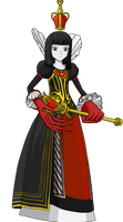 Queen of Hearts by brolyeuphyfusion9500