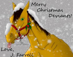 Merry Christmas by J-Farrell