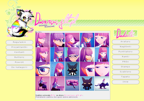 Luka Megurine - Secret .icons. .avatars. by Diversus-site