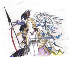 final fantasy IV by pichongato