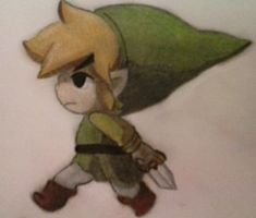 Gift for RianaLD: Wind Waker: Toon Link by Ayyyynow