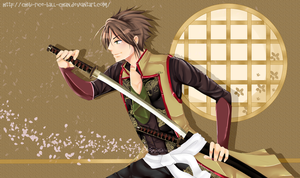 Hakuouki - Souji Okita by chibi-rice-ball-chan